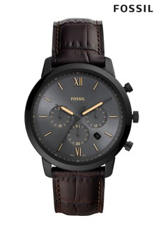 Fossil™ Neutral Leather Watch