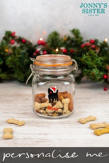 Personalised Dog Treat Jar by Jonnys Sister
