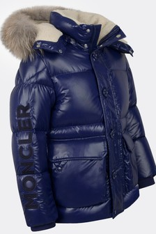 Boys Navy Down Padded Jacket