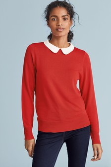Collar Layer Jumper