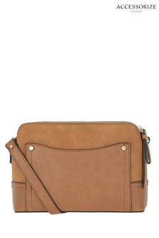 2af6886bc3 Accessorize Tan Darcy Cross Body Bag