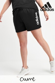 adidas Curve Essentials Black Shorts