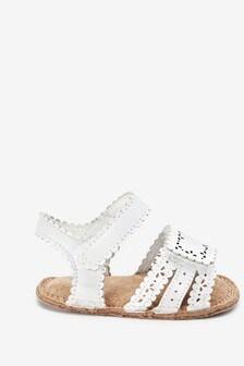 Little Luxe™ Pram Sandals (0-18mths)