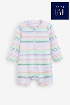 Gap Baby Multi Stripe Zip Swimsuit