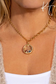 Kate Thornton 'I Love You' Floating Locket Necklace