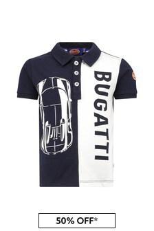 Bugatti Baby Navy Cotton Polo Shirt