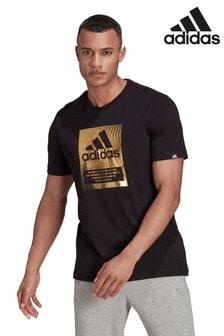 adidas Navy Box T-Shirt