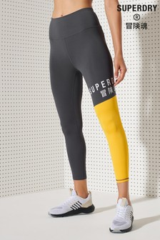 Superdry Training Graphic 7/8 Leggings