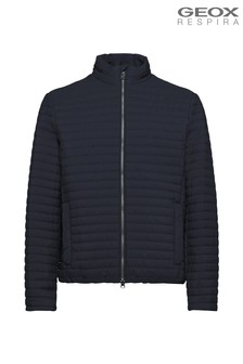 Geox Men's Kennet Blue Short Jacket