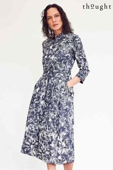 Thought Blue Kinsley Shirt Dress