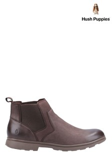 Hush Puppies Brown Tyrone Boots