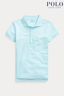Ralph Lauren Turquoise Logo Polo