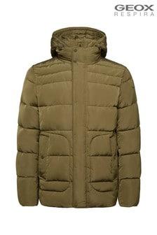 Geox Men's Hilstone Green Short Jacket