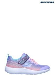 Skechers® Purple Dyna-Lite Shimmer Streaks Trainers