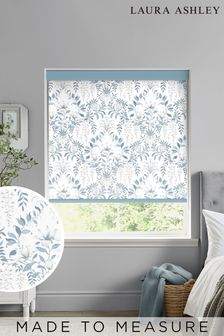 Laura Ashley Blue Parterre Made To Measure Roller Blind