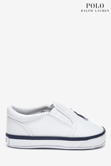 Ralph Lauren White Harbour Shoes