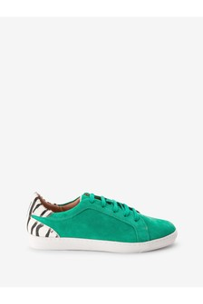 Signature Leather Trainers