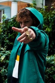 Tommy Hilfiger Green Tech Hooded Jacket