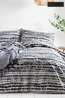 Brushstroke Duvet Cover And Pillowcase Set by Riva Home