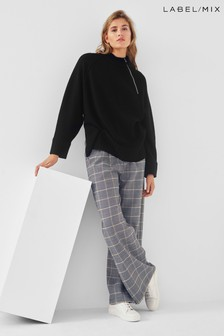 Mix/Suncoo Jamie Check Trousers