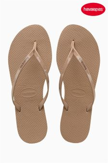 Havaianas® You Metallic Sand Grey Flip Flop