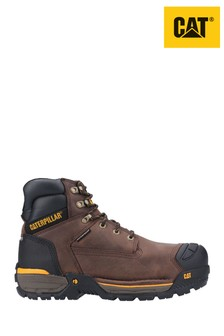 CAT® Excavator Lace-Up Safety Hiker Boots