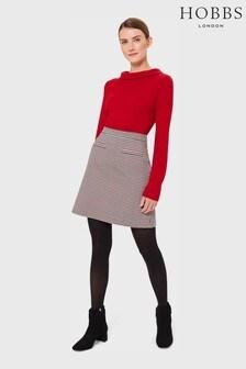 Hobbs Red Vanetta Skirt