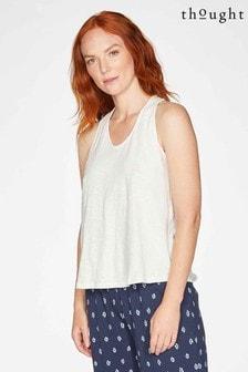 Thought White Fairtrade Organic Cotton Vest