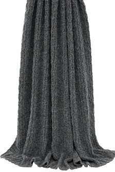 Lilya Knitted Throw by Riva Home