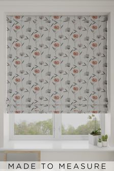 Izzy Coral Pink Made To Measure Roman Blind