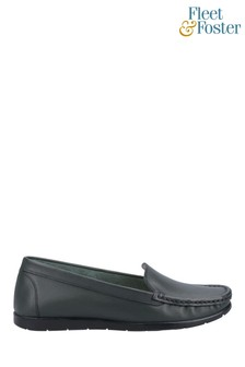 Fleet & Foster Green Tiggy Slip-On Loafers