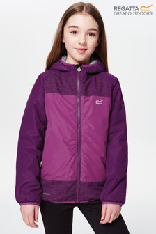 Regatta Volcanics Waterproof Purple Jacket