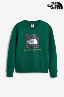 The North Face® Youth Green Box Crew