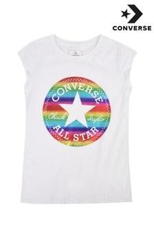 Converse White Chuck Patch Foil T-Shirt