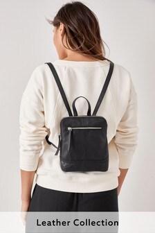 Mini Leather Rucksack