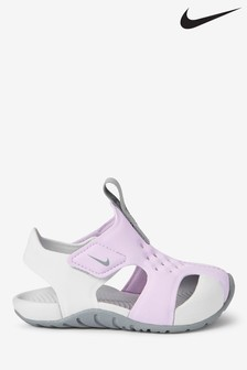 Nike Pink/White Sunray Protect Infant Sandals