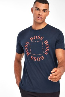 BOSS Tee 1 Circle Logo T-Shirt