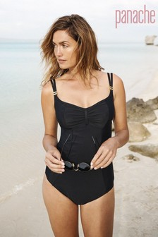 Panache Black Anya Riva Balconnet Swimsuit
