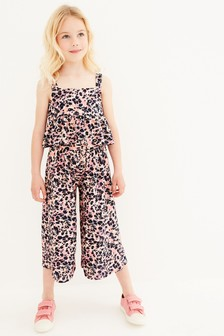 Co-Ord Crop Top And Culottes Set (3-16yrs)