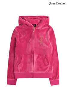 Juicy Couture Velour Zip Through Hoody