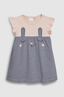 Obleka z motivom zajca (3 mesecev–7 let)