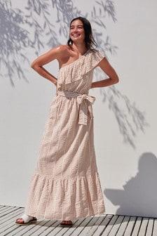 1 Shoulder Strap Dress