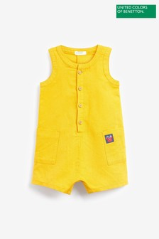 Benetton Button Down Dungarees
