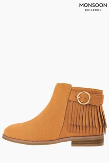 Monsoon Tammy Tassel Buckle Boots