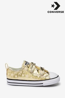 Converse Metallic Chuck Ox Infant Trainers