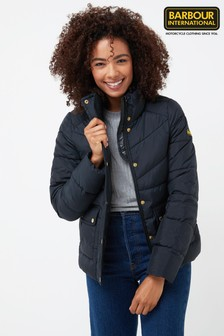 Barbour® Black International Zolder Quilted Jacket