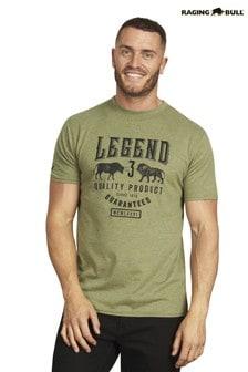 Зеленая футболка Raging Bull Legend