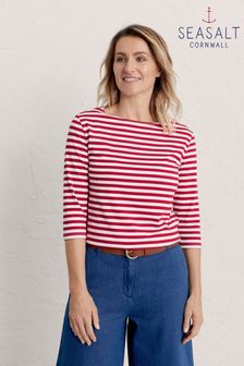 Seasalt Red Sailor Top