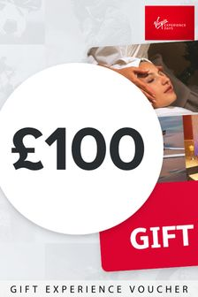 Gift Card 100 Gift by Virgin Experience Days