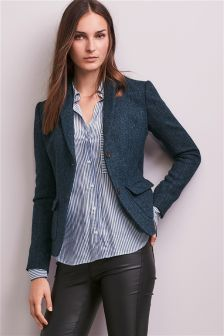 Herringbone Harris Tweed Jacket